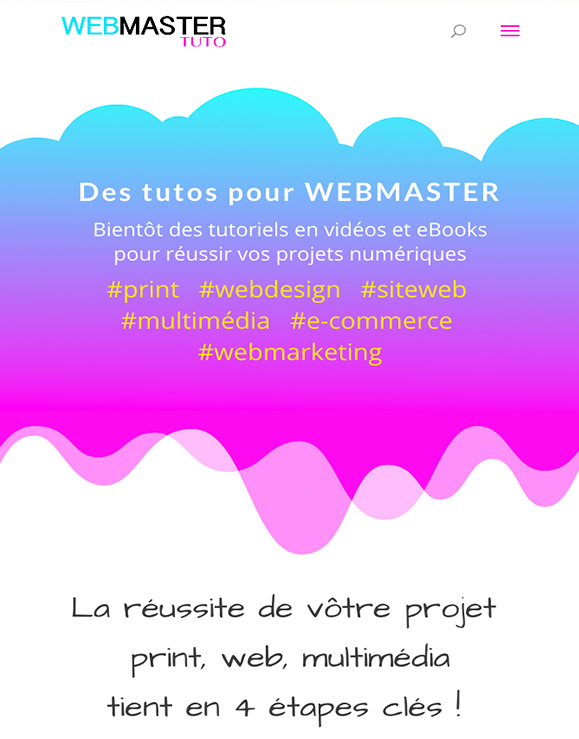 Bannière du site WebmasterTuto.com